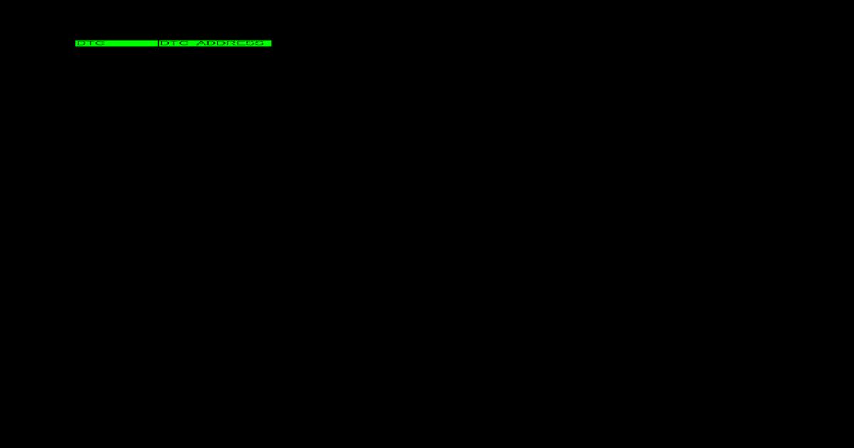 DTC 2009 - [XLS Document]