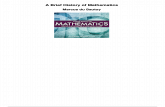 A Brief History of Mathematics - [PDF Document]